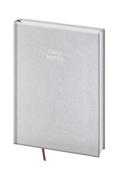 Daily Notes A5 stříbrný kalendář