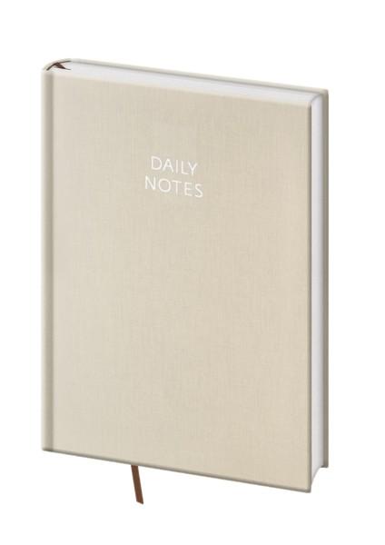 Daily Notes A5 béžový kalendář