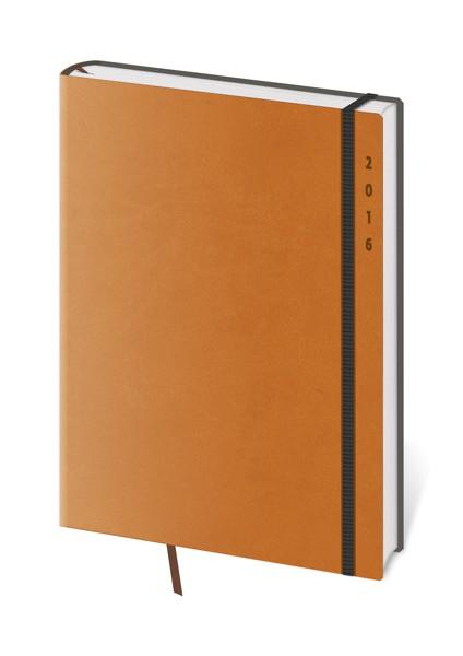 Diář denní B6 Flexies oranžový