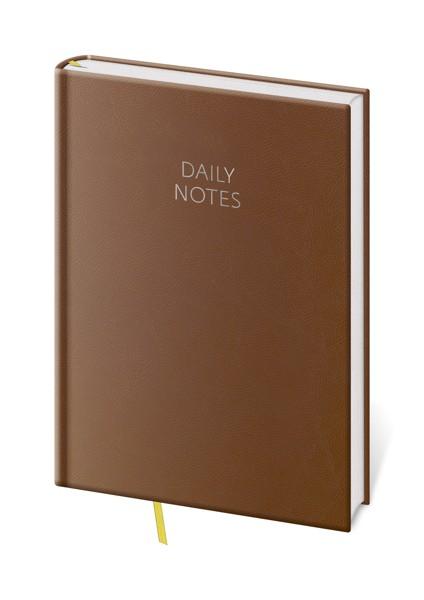 Daily Notes A5 hnědý kalendář