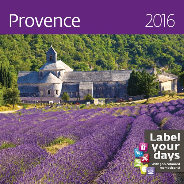 Provence kalendář