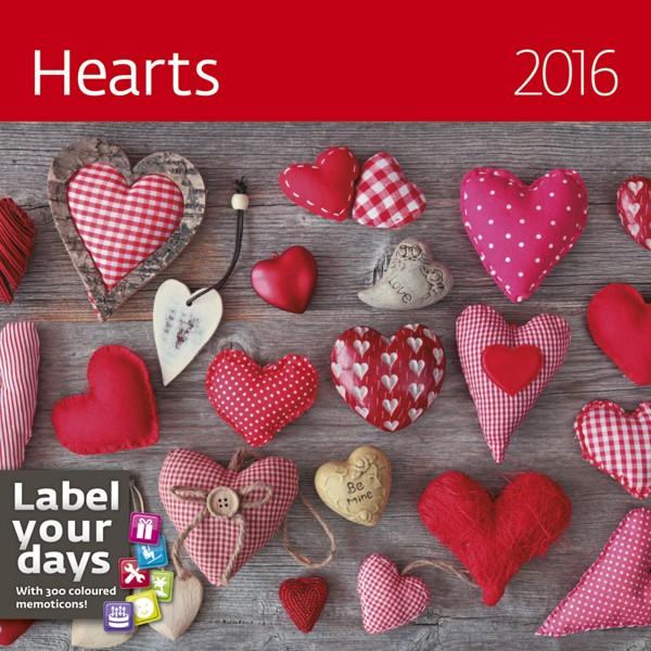 Hearts kalendář