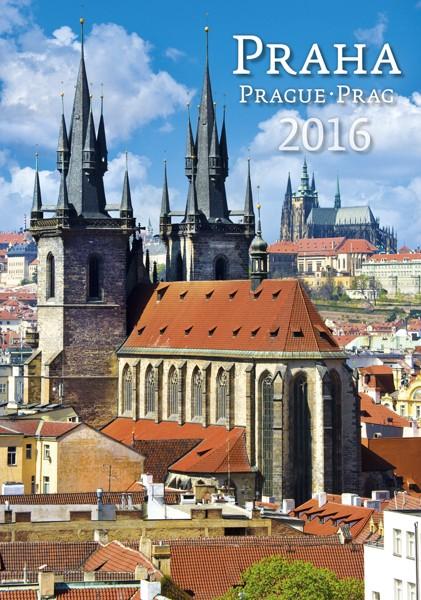 Praha kalendář