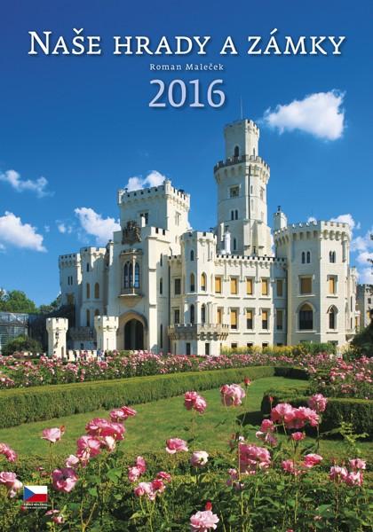 Naše hrady a zámky kalendář