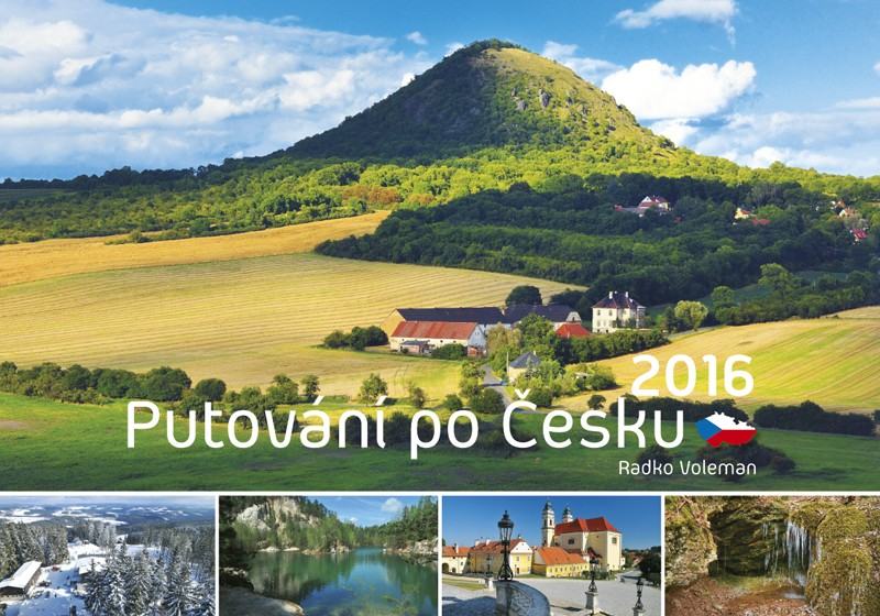 Putování po Česku kalendář
