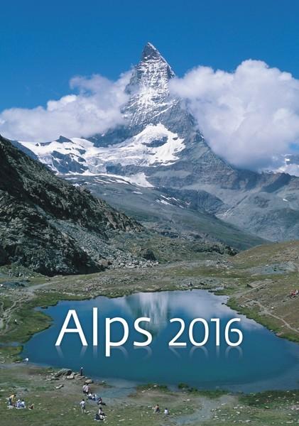 Alpy kalendář