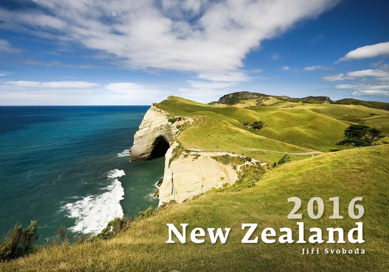 New Zealand kalendář