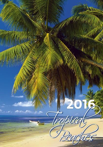Tropical Beaches kalendář