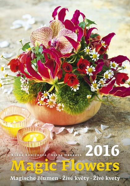 Živé květy kalendář