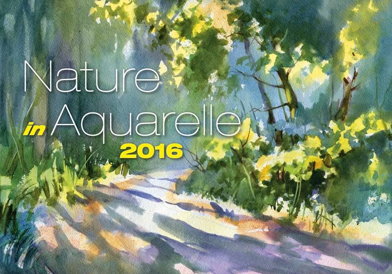 Nature in Aquarelle kalendář