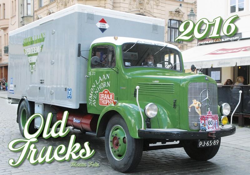 Old Trucks kalendář