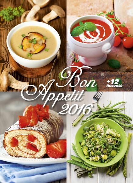 Bon Apetit + 12 receptů kalendář