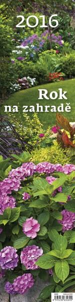 Rok na zahradě - vázanka kalendář
