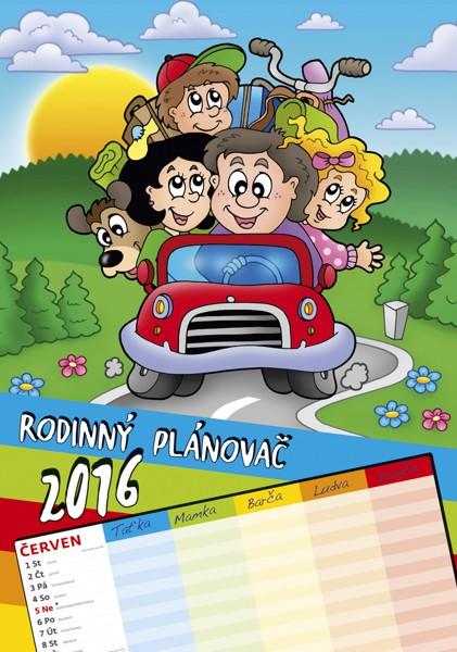 Rodinný plánovač kalendář
