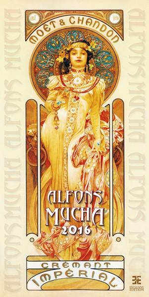 Alfons Mucha kalendář