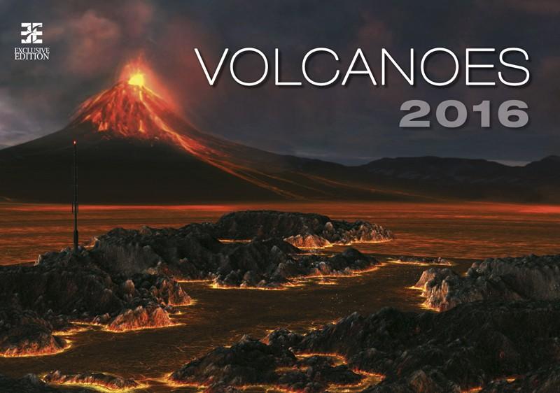 Volcanoes kalendář