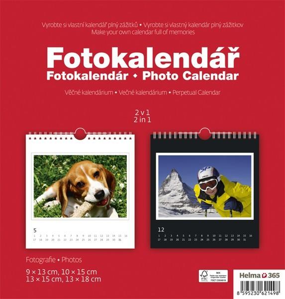 Fotokalendář kalendář