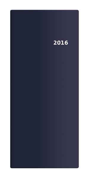 Diář Torino měsíční modrý