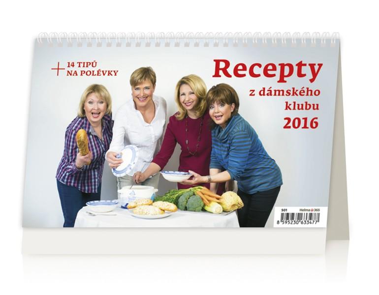Recepty z Dámského klubu kalendář