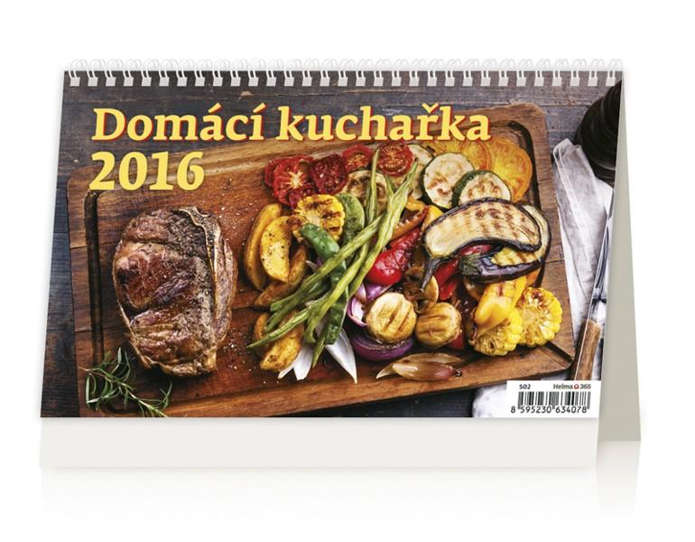 Domácí kuchařka kalendář