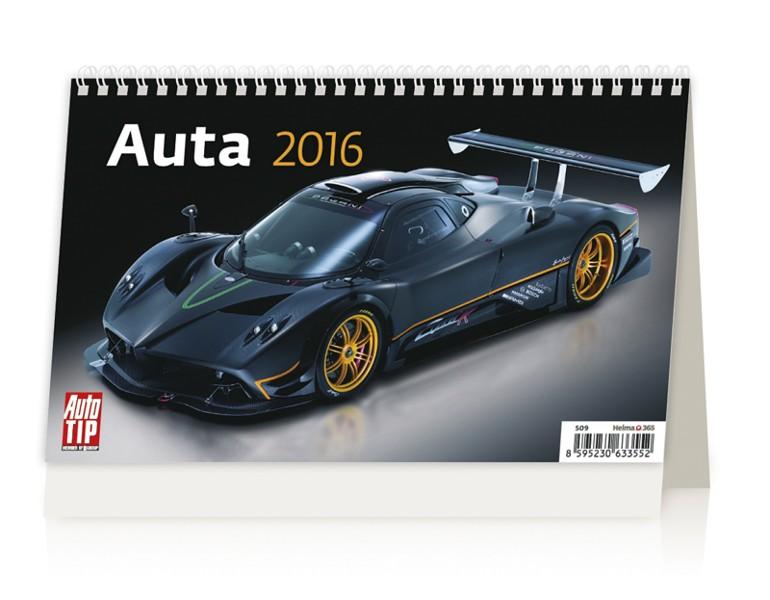 Auta kalendář