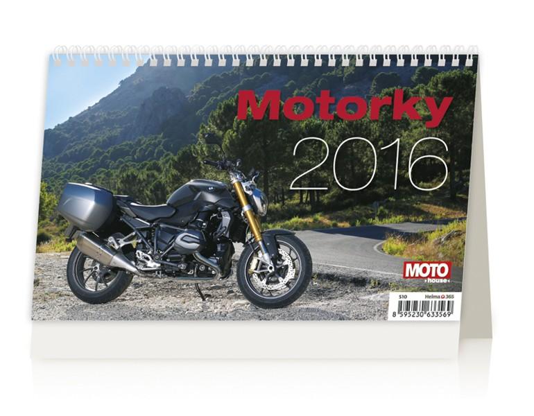 Motorky kalendář
