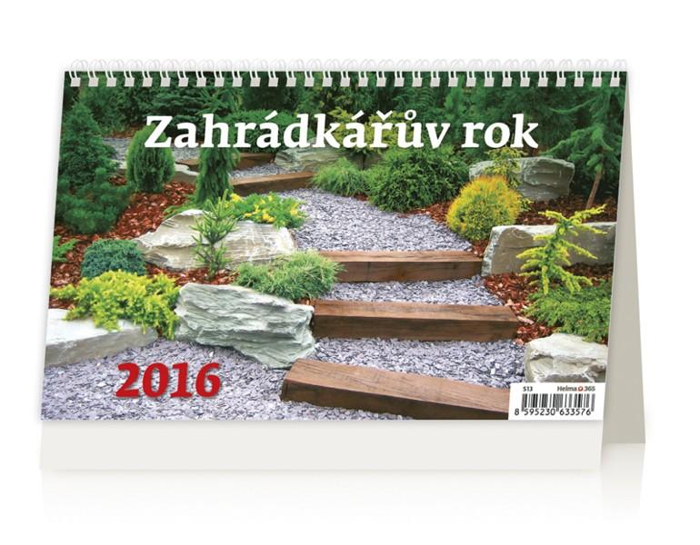Zahradkářův rok kalendář
