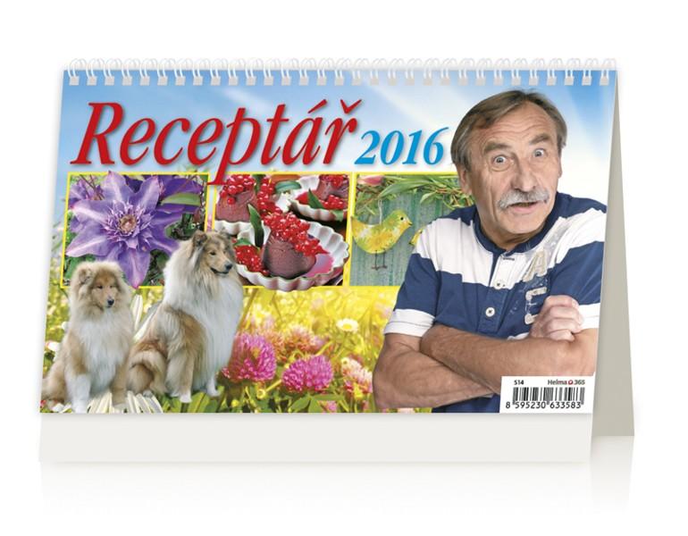 Receptář kalendář