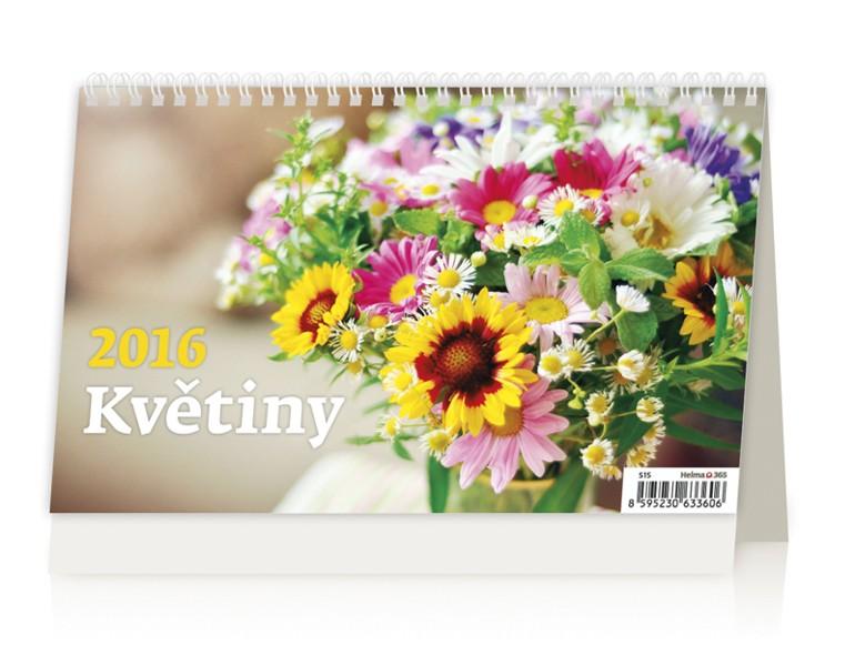 Květiny kalendář