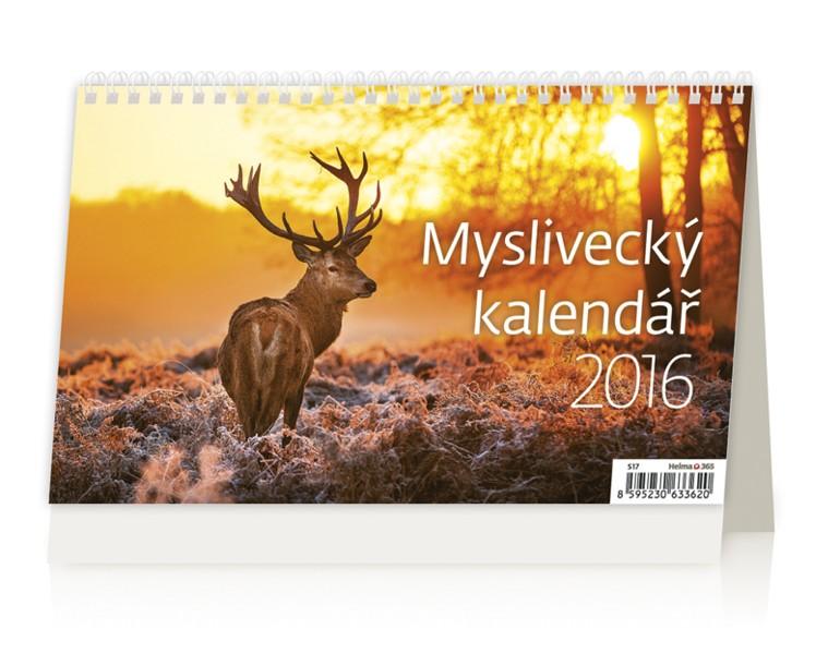 Myslivecký kalendář kalendář
