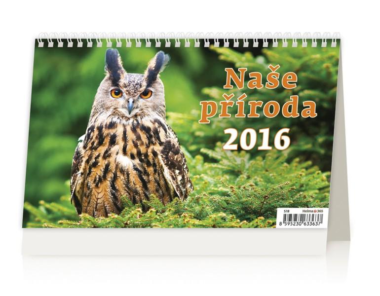 Naše příroda kalendář