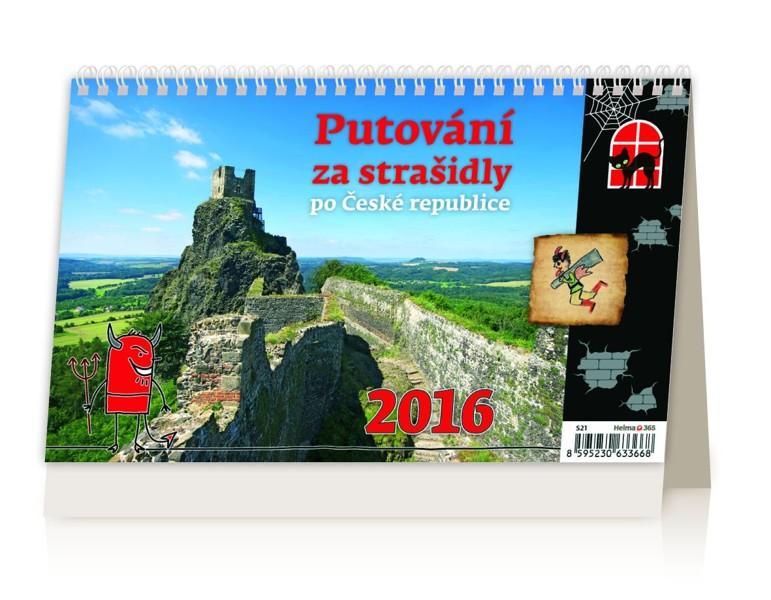Putování za strašidly po České republice kalendář