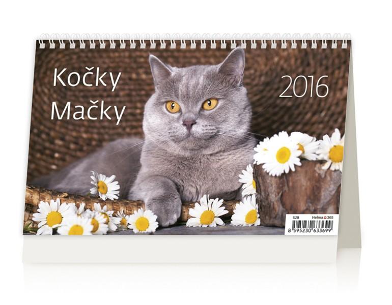 Kočky kalendář