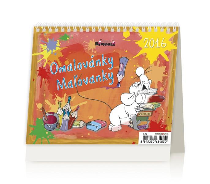 MiniMax Omalovánky kalendář