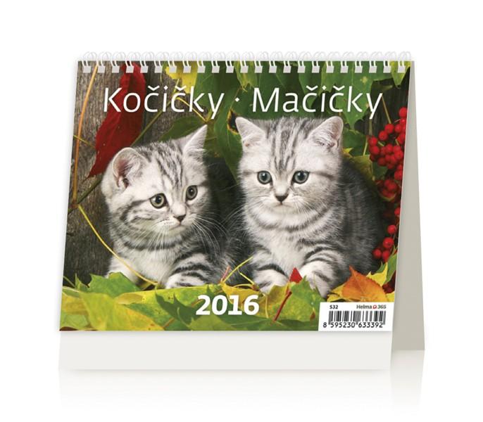 MiniMax Kočičky kalendář