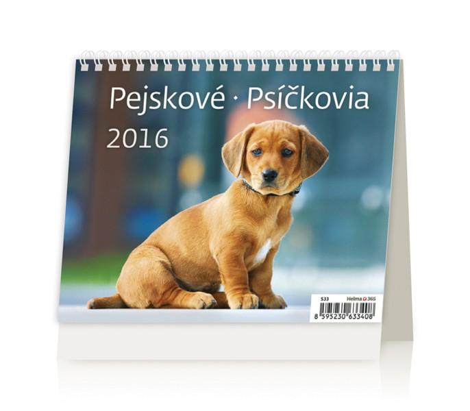 MiniMax Pejskové kalendář