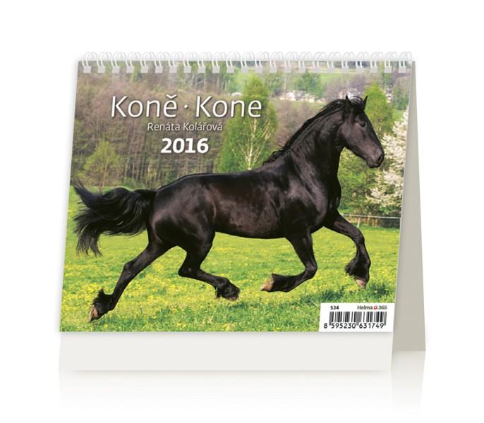 MiniMax Koně kalendář