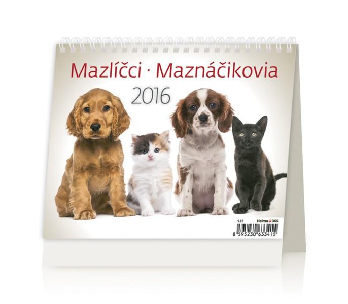 MiniMax Mazlíčci kalendář