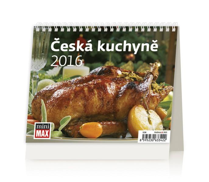 MiniMax Česká kuchyně kalendář