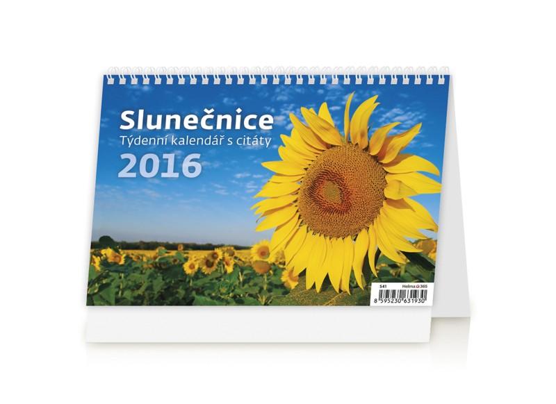 Slunečnice kalendář