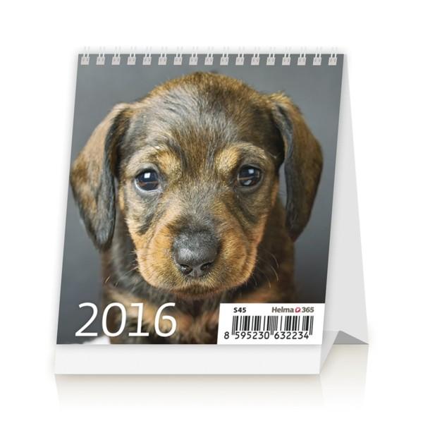 Mini Puppies kalendář