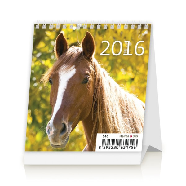 Mini Horses kalendář