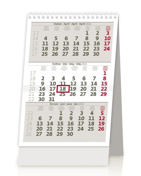 MINI tříměsíční kalendář kalendář