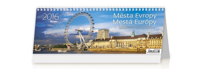 Města Evropy kalendář