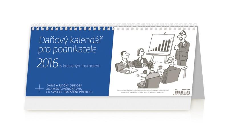 Daňový kalendář pro podnikatele kalendář