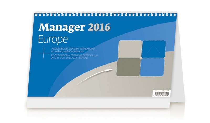 Manager Europe kalendář