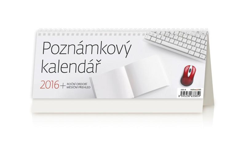 Poznámkový kalendář kalendář