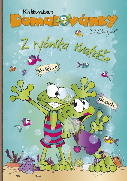 Omalovánka Z rybníka Kvakáče kalendář