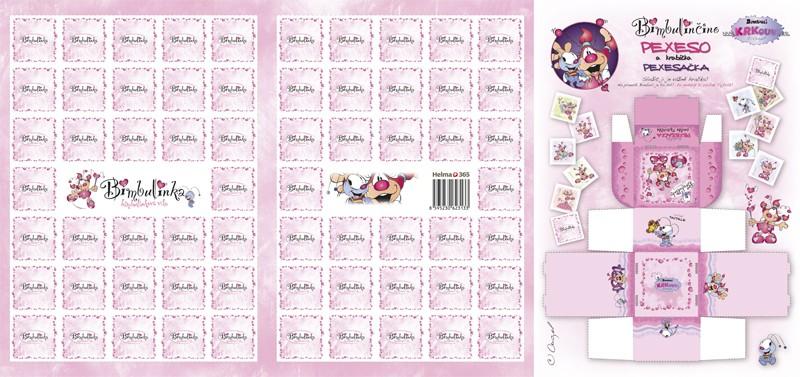 Pexeso Víla Bimbulinka kalendář